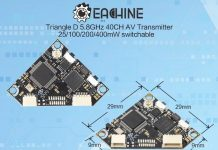 Eachine TriangleD FPV transmitter