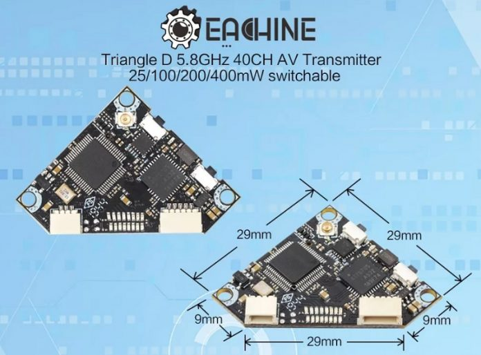 Eachine TriangleD FPV transmitter
