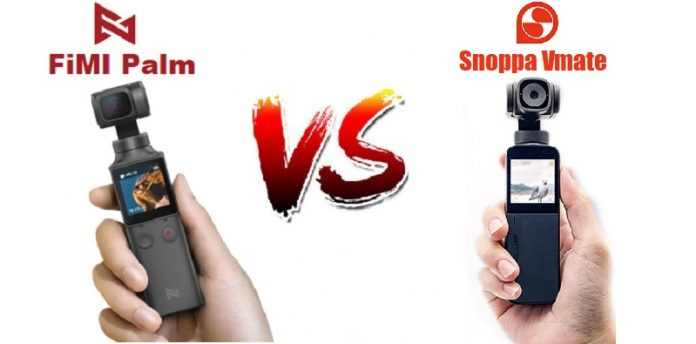 FiMI Palm and Snoppa Vmate side by side