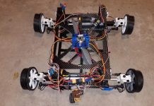 Flying car drone DIY project