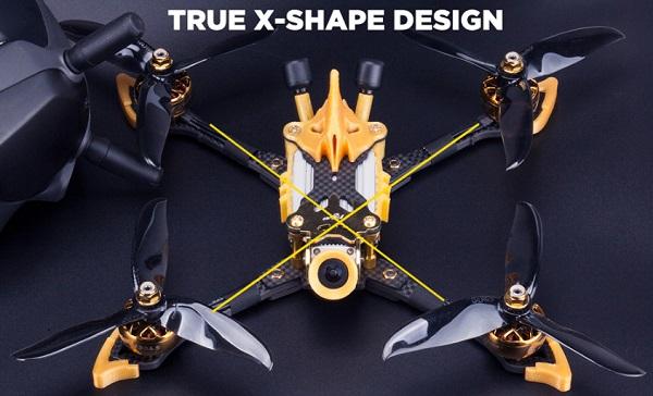 Design of Flywoo Vampire2 drone
