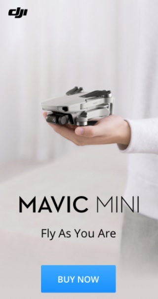 Mavic Mini Banner