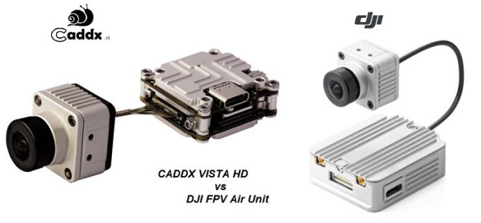 CADDX VISTA HD vs DJI FPV Air Unit: BEST Digital FPV system