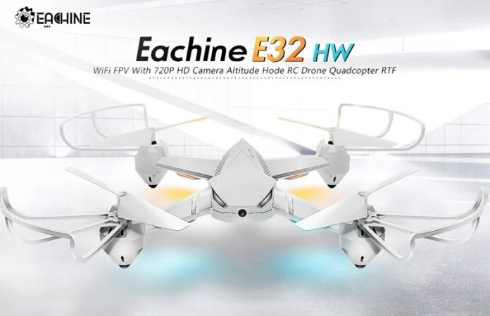 Eachine E32HW drone