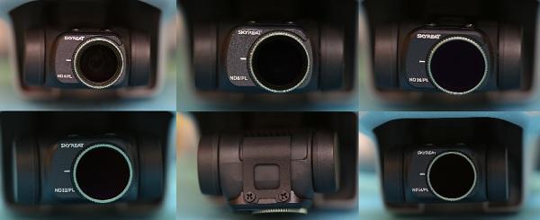 Mavic Mini ND64, ND32, ND16, ND8 and ND4 filter pack