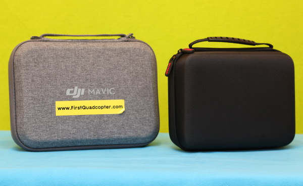 Skyreat and DJI Mavic MIni case side by side