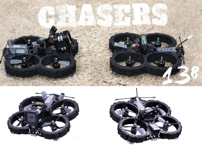 FLYWOO CHASERS HD FPV race drone