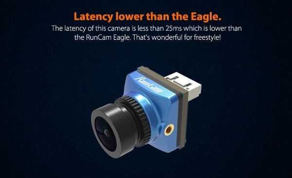 Side view of RunCam Phoenix 2 camera