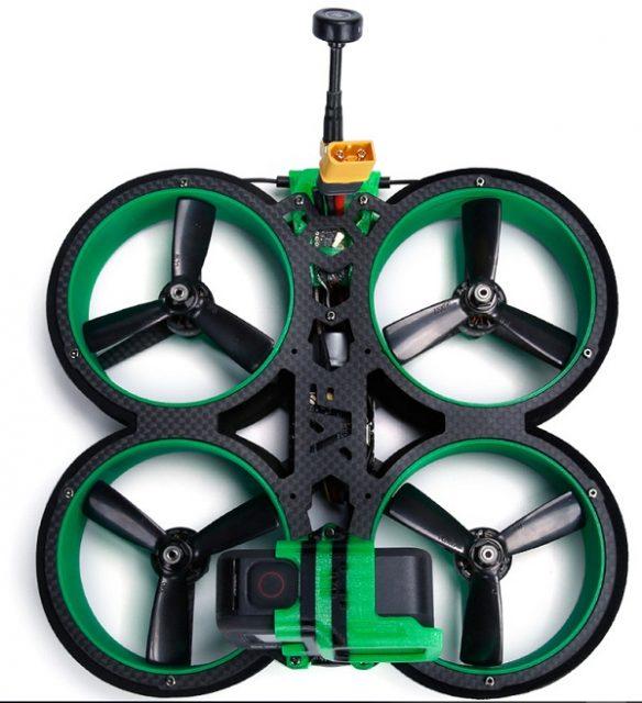 Upper view of iFlight Green Hornet