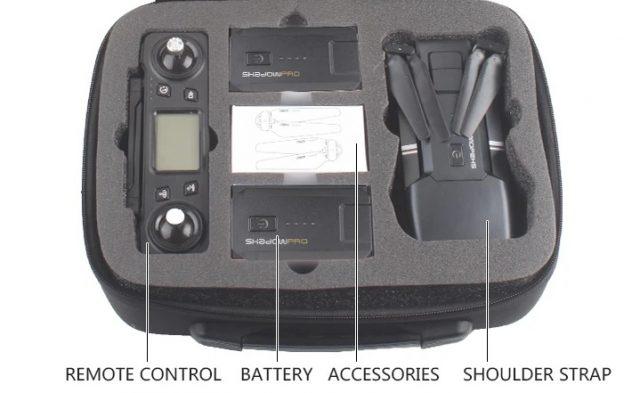 Accessories come with AOSENMA CG036