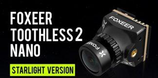Foxeer Nano Toothless 2 FPV camera