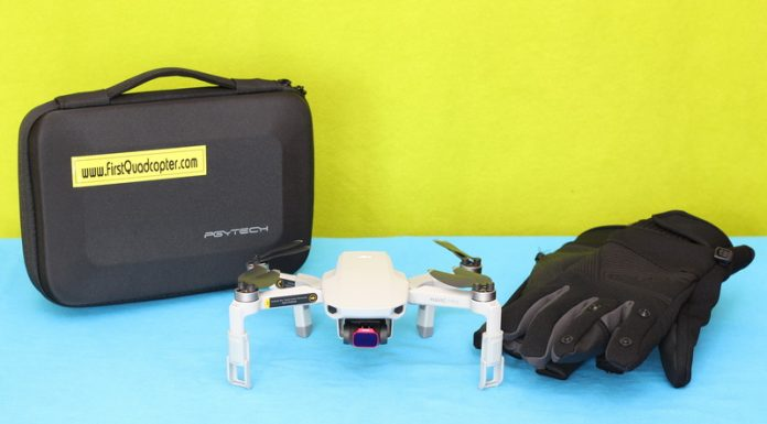 PGYTECH Mavic Mini accessories drone review