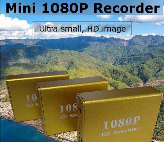 Ultra Mini DVR 1080@60fps
