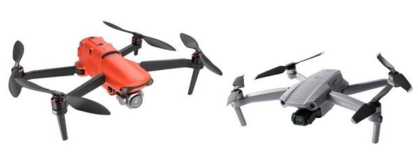 Mavic Air 2 vs Autel Robotics EVO II