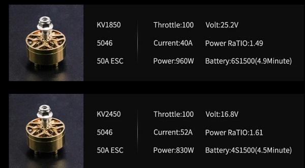 Eachine LAL 5Style motors