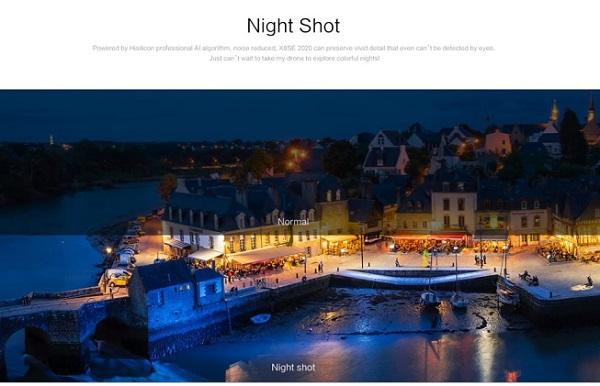 Night shot mode