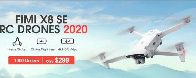 FIMI X8SE 2020 drone deal