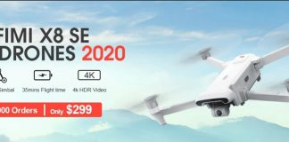 FIMI X8 SE 2020 for only $299!!