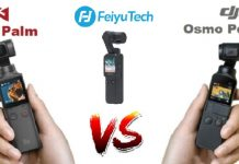Feiyu Pocket vs DJI Osmo Pocket vs FiMI Palm