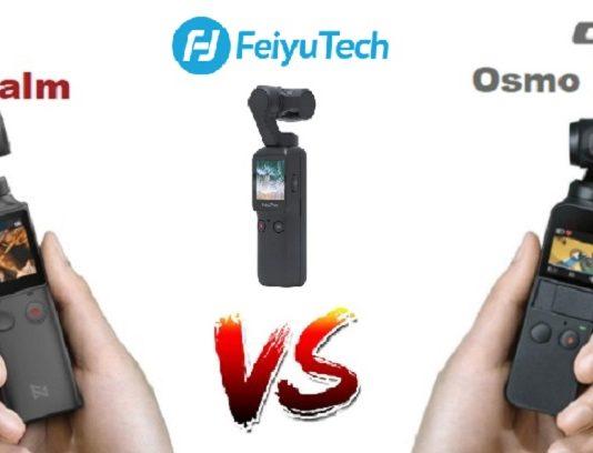 Feiyu Pocket vs DJI Osmo Pocket vs FiMI Palm