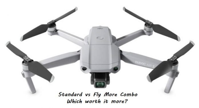 Mavic Air 2 fly more combo vs standard pack