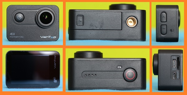Vantop Moment 5C camera review: Design