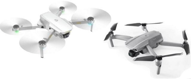 CSJ S161 Mini Pro and Mavic Air 2 side by side