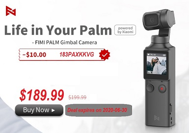 FIMI PALM GIMBAL DISCOUNT