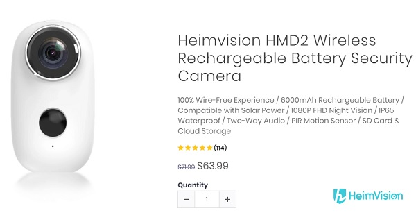 Price of Heimvision HMD2