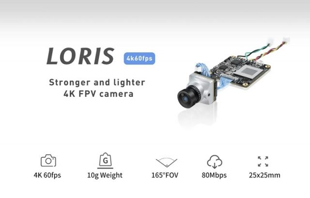 Image of Caddx Loris 4K camera