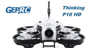 GEPRC Thinking P16 HD FPV drone