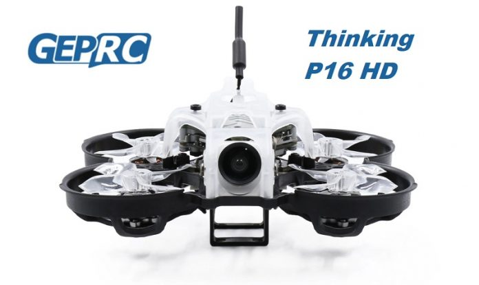 GEPRC Thinking P16 HD FPV drone
