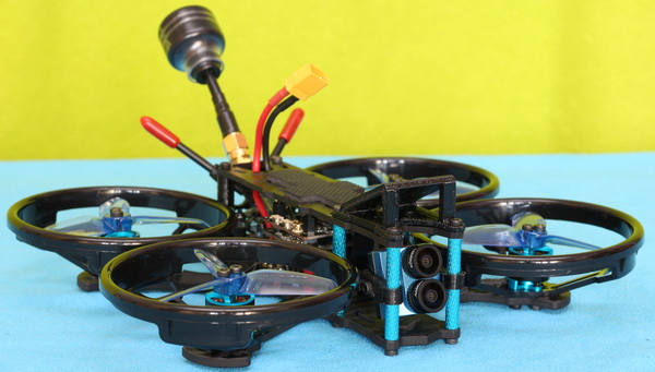 Design of HGLRC Sector132 drone