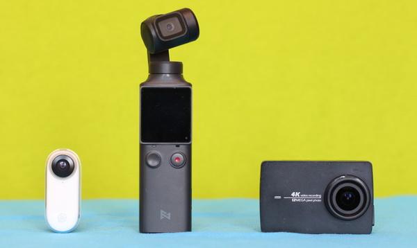 Insta360 Go vs Action camera