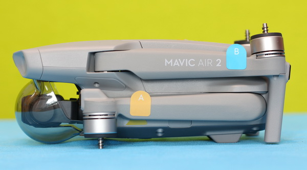 Mavic Air 2 with folded arms