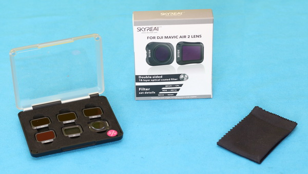 Skyreat filters review: Unboxing