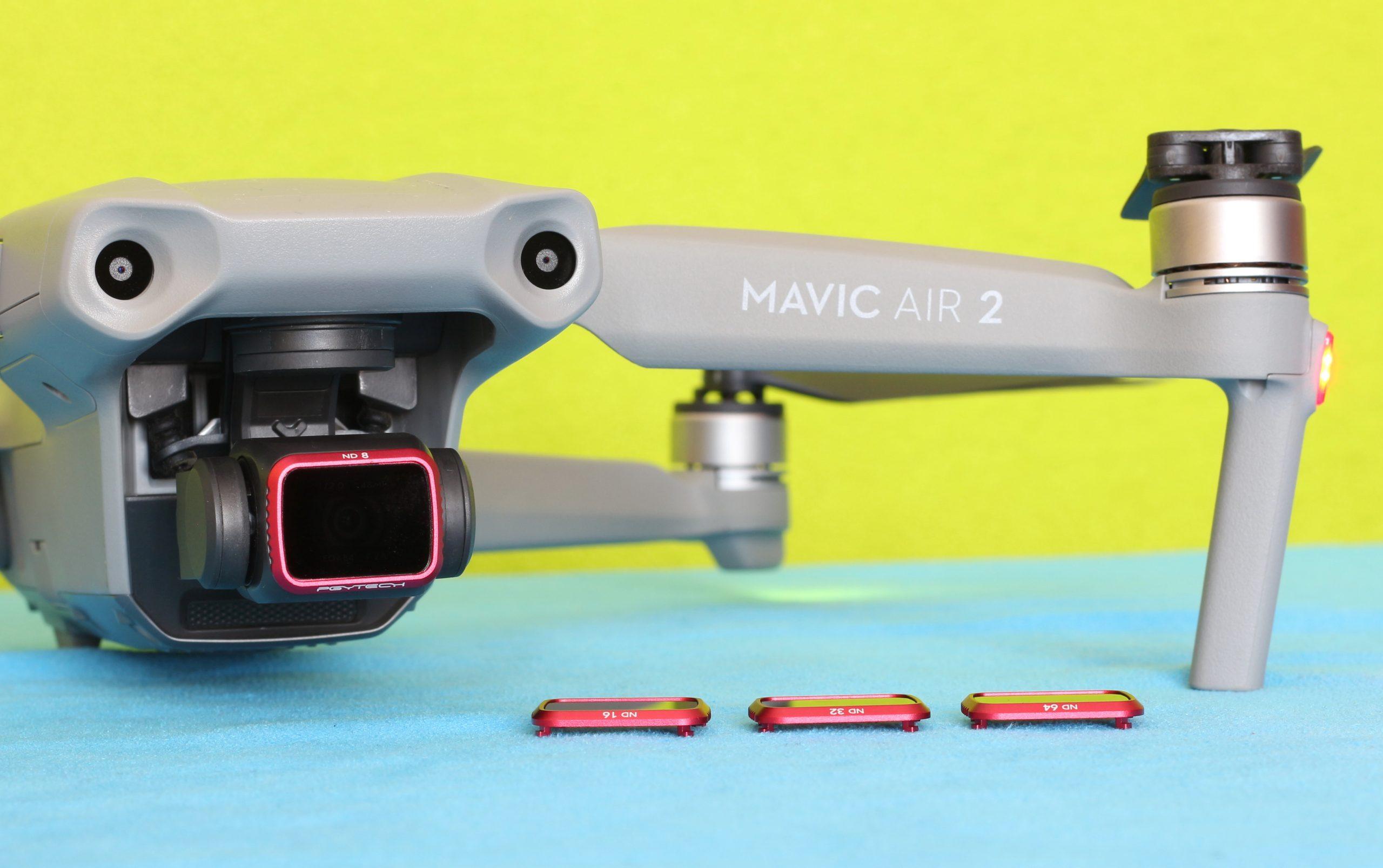 PGYTech ND filter on Mavic Air 2