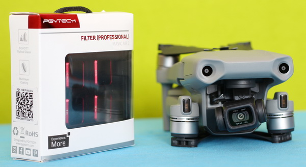 PGYTech ND filters F-Stops relation