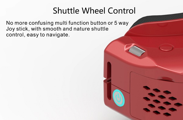 Easy to use shuttle wheel control
