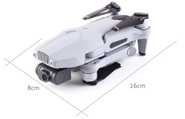 Size of F007 drone