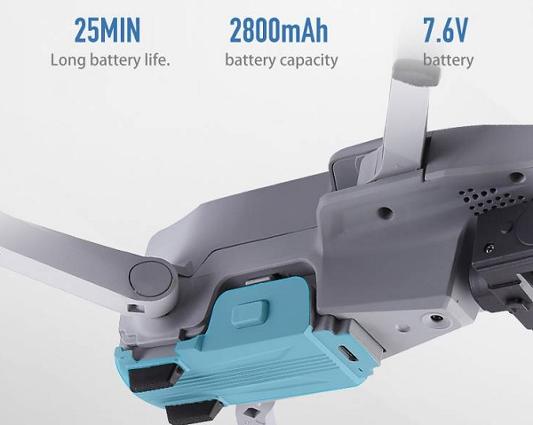 F007 drone battery life
