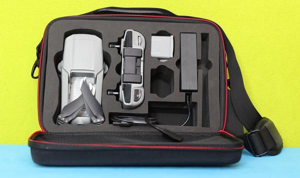 Skyreat Mavic Air 2 bag review: Storing capacity