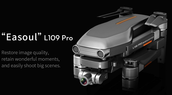 Easoul L109 PRO with foldable arms