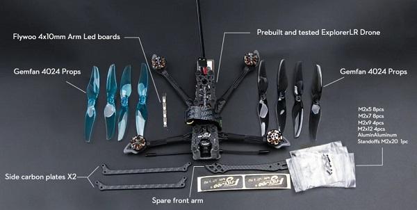 Flywoo Explorer LR accessories