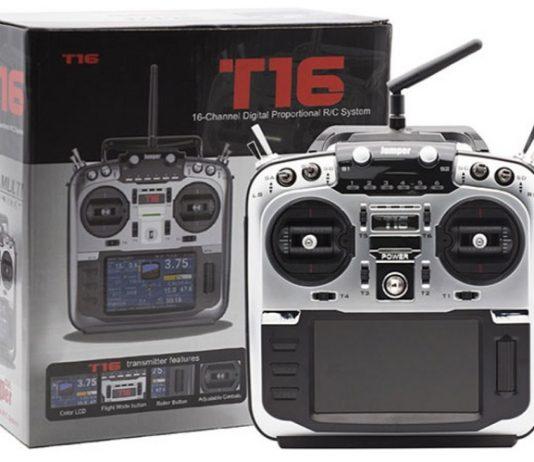 Jumper T16 Pro Hall V2 remote controller