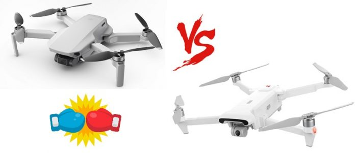 DJI Mavic Mini vs Xiaomi Fimi X8SE