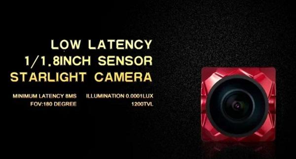 FPV camera specs