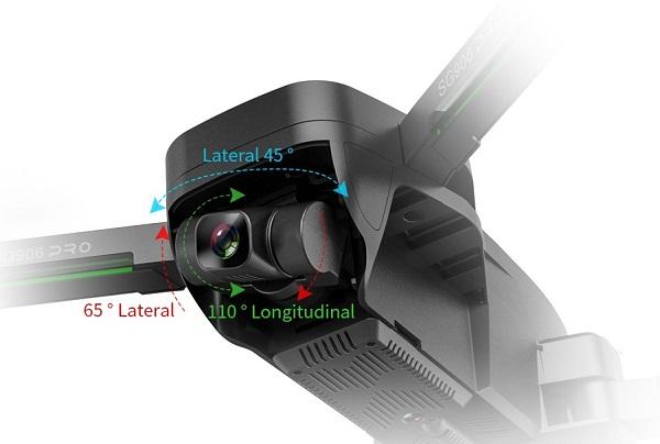 Camera of ZLRC SG906 Pro 2 Beast drone