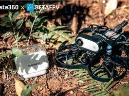Photo of Betafpv Beta95X V2 HD with Insta360 Go camera