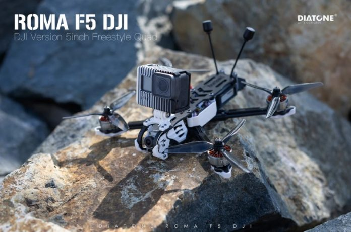Photo of DIATONE ROMA F5 drone